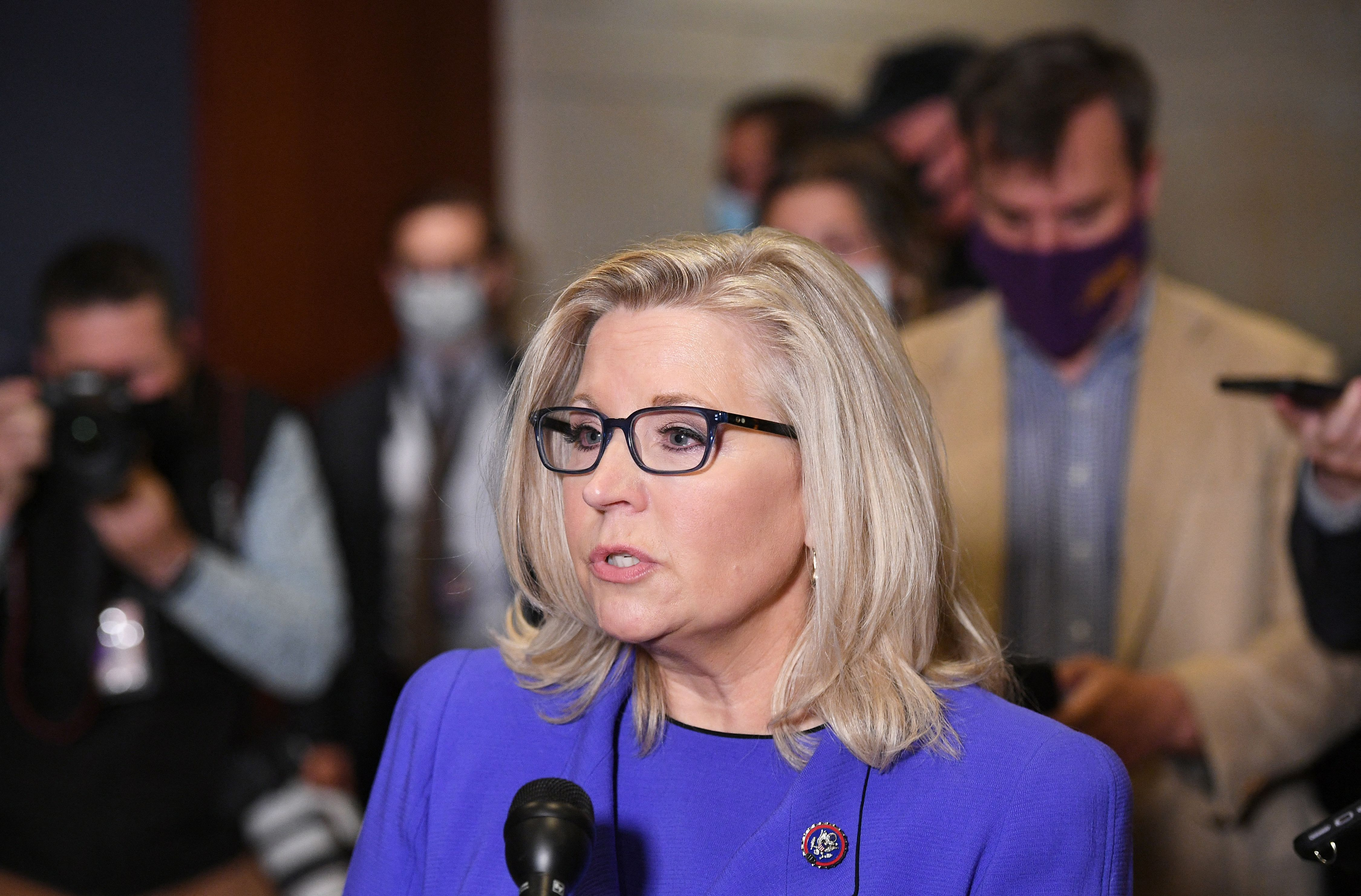 Liz Cheney: Republicans have a 'red line' on Biden's defense budget