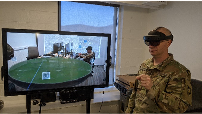 Army Cyber Institute virtual reality research