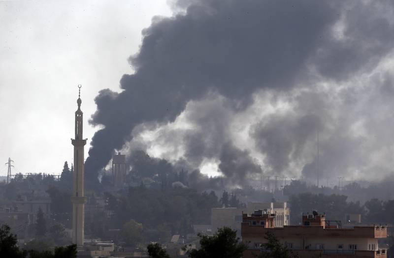 targets inside Syria