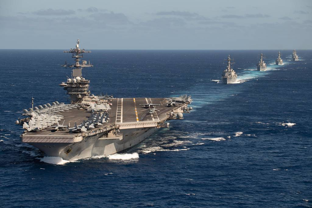 USS Theodore Roosevelt (CVN 71) Carrier Strike Group