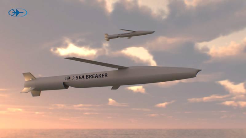 Sea Breaker long-range missile