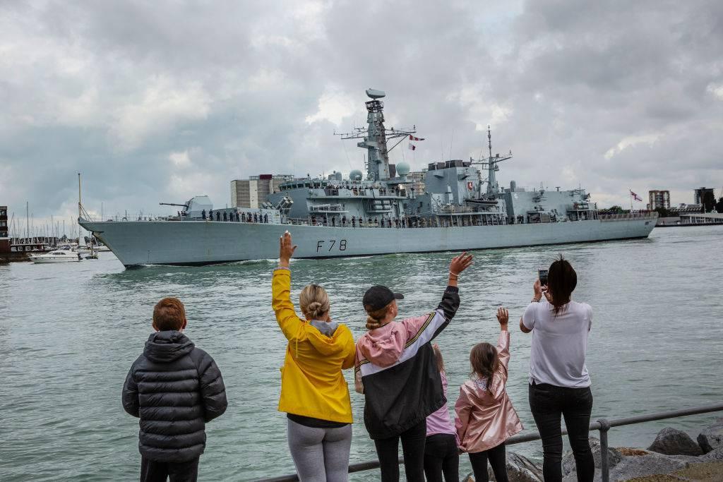 Así es como se vería un diseño de barco 'verde' para la Royal Navy