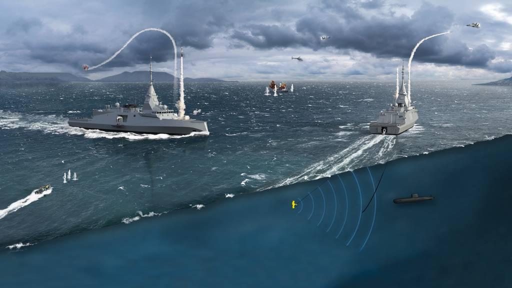 Grecia firma un pacto para comprar tres fragatas a Francia