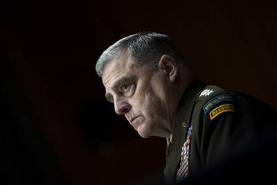 Chairman of the Joint Chiefs Chairman Gen. Mark Milley
