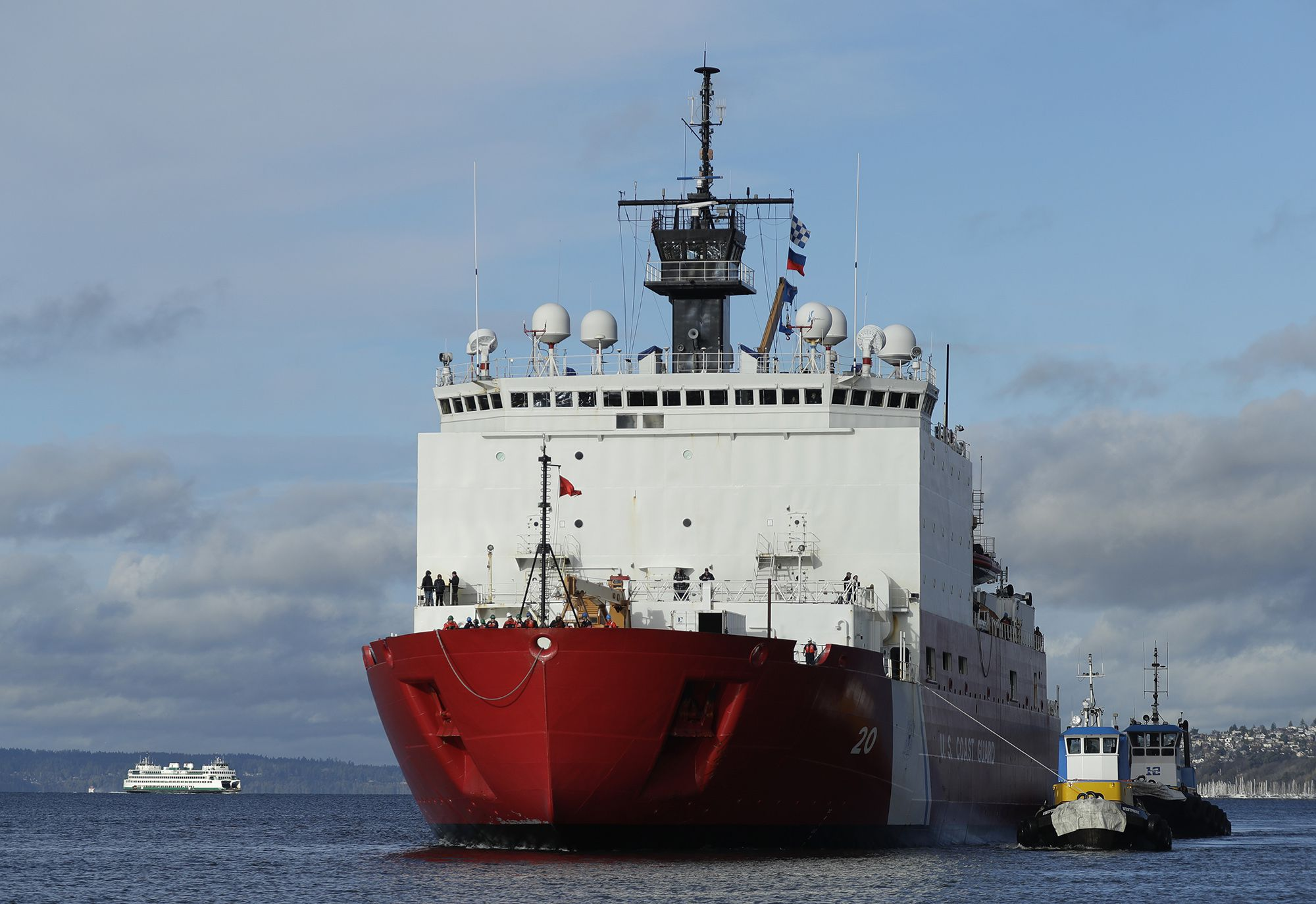 Coast Guard looks to expand Seattle base as US ramps up Arctic presence