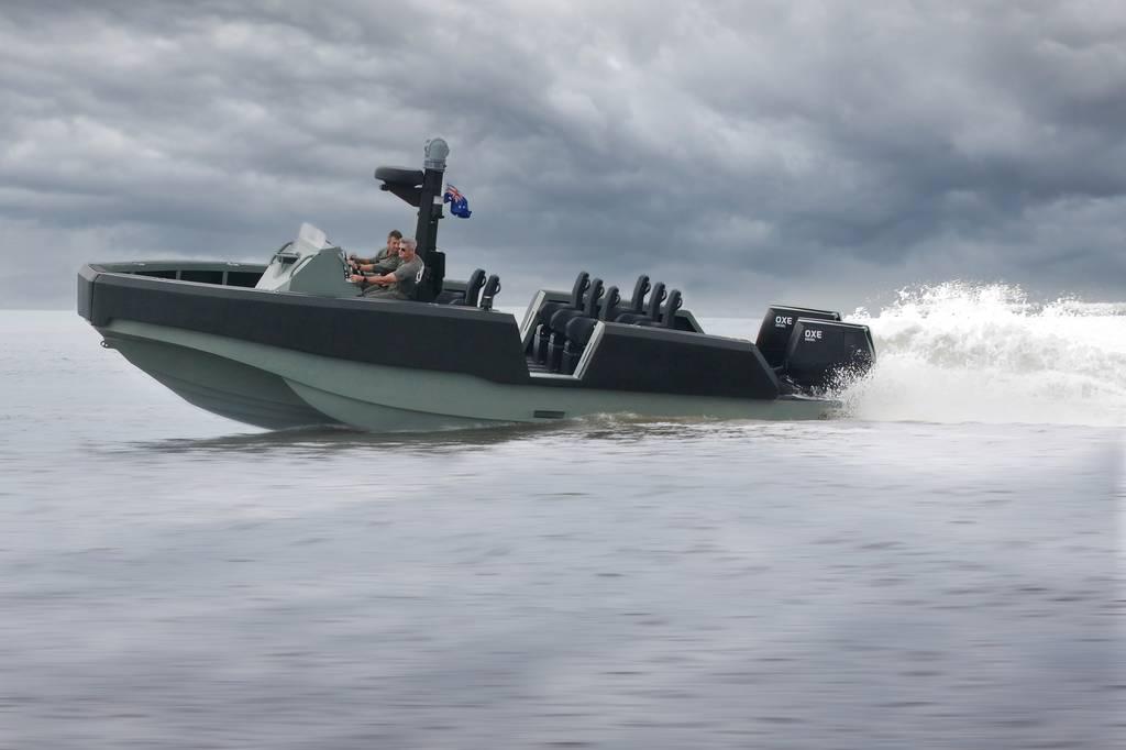 Embarcación pequeña australiana con paquete de comunicaciones de EE. UU. En prueba para una necesidad urgente del Cuerpo de Marines