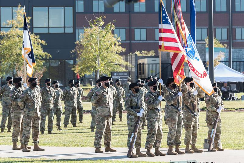 V Corps conducted a reactivation ceremony, at Fort Knox, Ky., Oct 16, 2020.