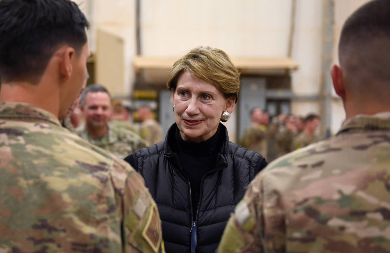 Secretary of the Air Force Barbara M. Barrett