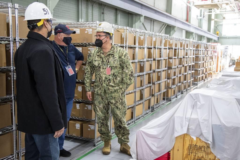 El jefe de la cadena de suministro de la Marina de los EE. UU. Quiere transformar los dólares en disponibilidad
