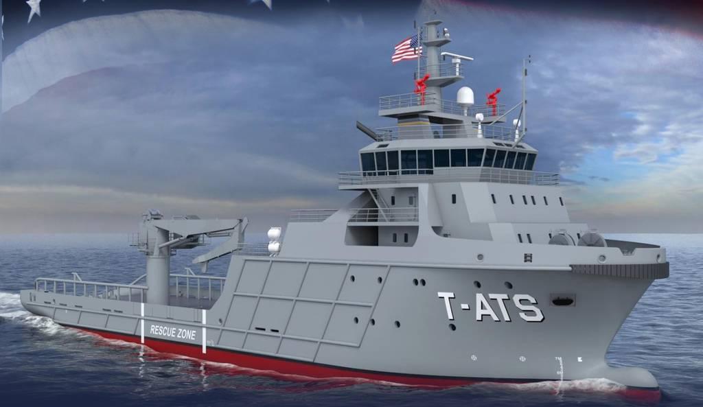 Austal USA gana el primer programa de construcción naval de acero con el contrato de remolcador T-ATS