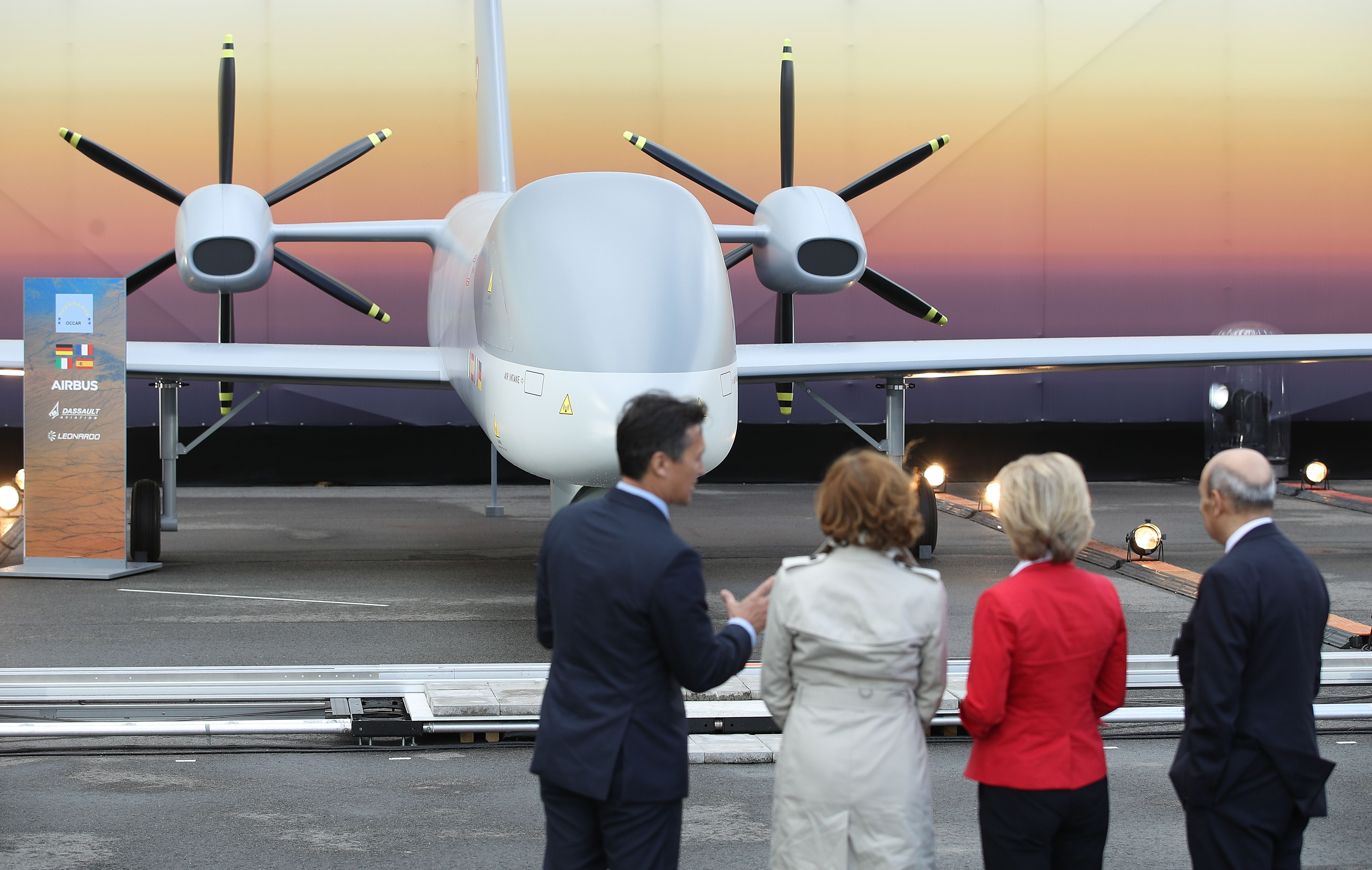 German defense minister vows to keep fighting for armed drones