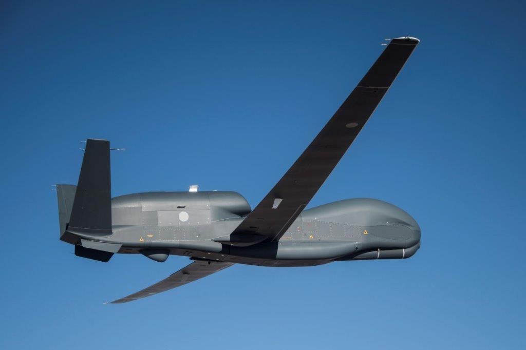 Japan's first Global Hawk begins flying at Northrop's California drone hub