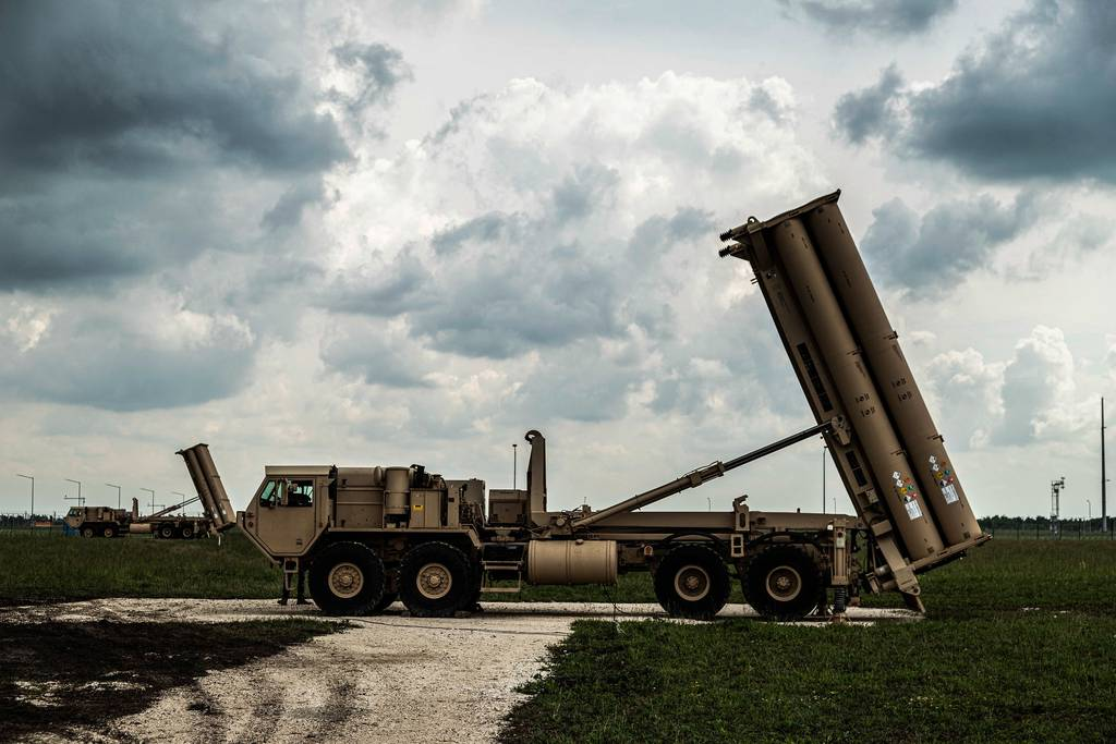 THAAD launchers stand ready at U.S. Naval Support Facility Deveselu in Romania