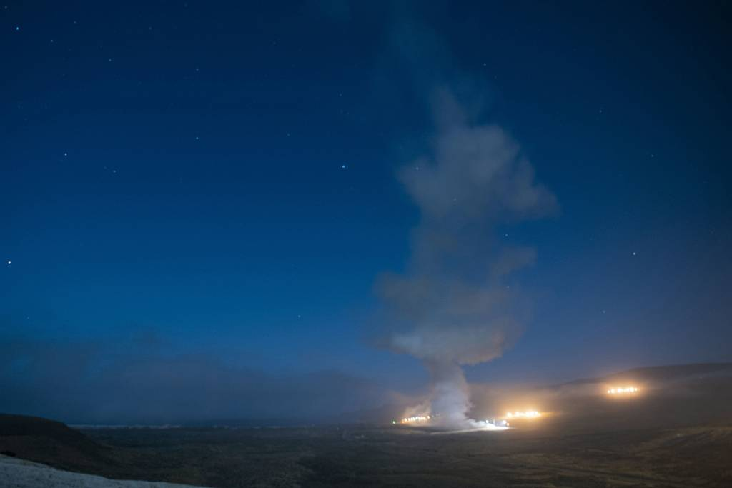 An Air Force Global Strike Command unarmed Minuteman III intercontinental ballistic missile launches during an operational test at 12:21 a.m. Tuesday, Aug. 4, 2020 at Vandenberg Air Force Base, Calif.