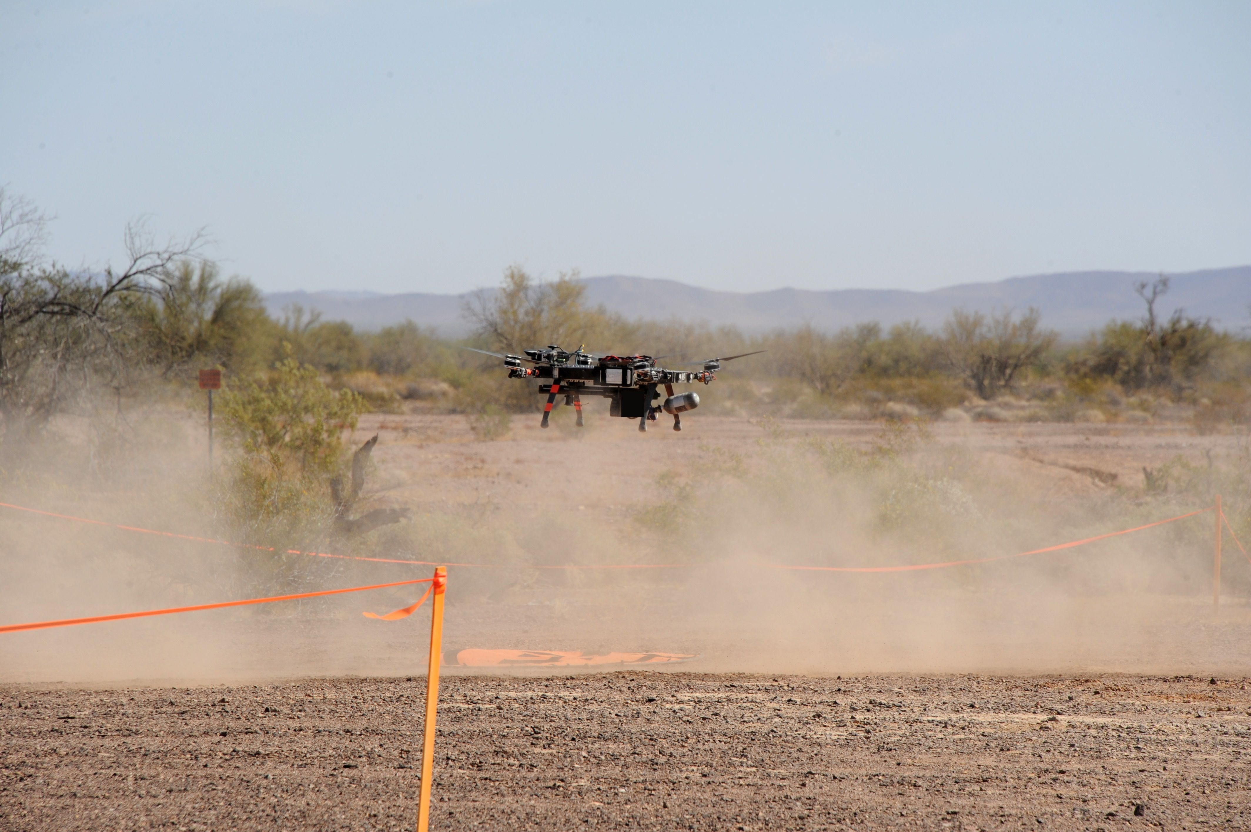 Three industry teams demonstrate capability to destroy small drones at Yuma