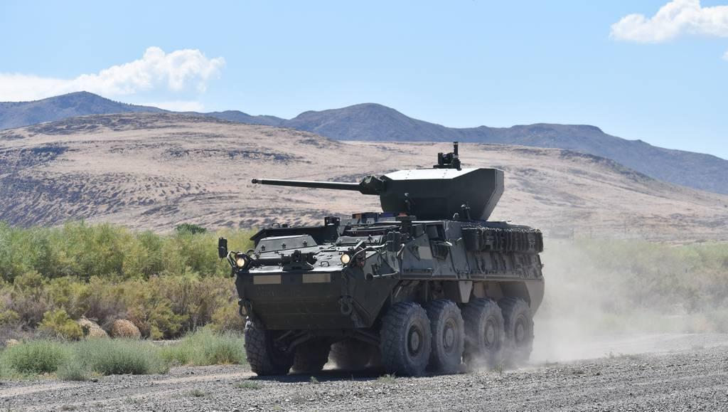 El Ejército de EE. UU. Pone a prueba el nuevo cañón de 30 mm de Stryker
